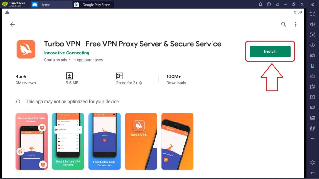 install turbo vpn for windows
