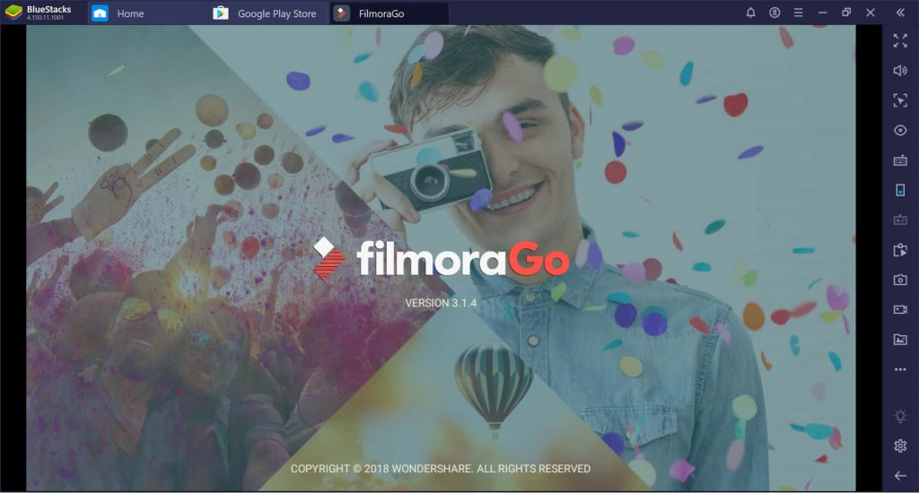 FilmoraGo screenshot